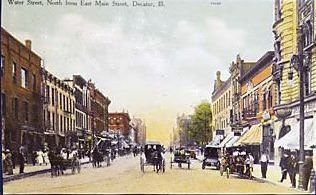 Water St. 1908